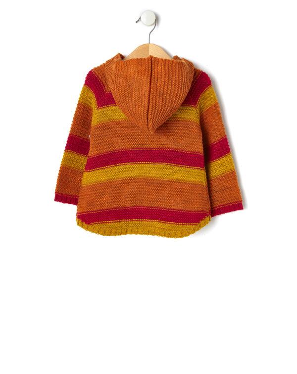 Poncho tricot con cappuccio - Prénatal