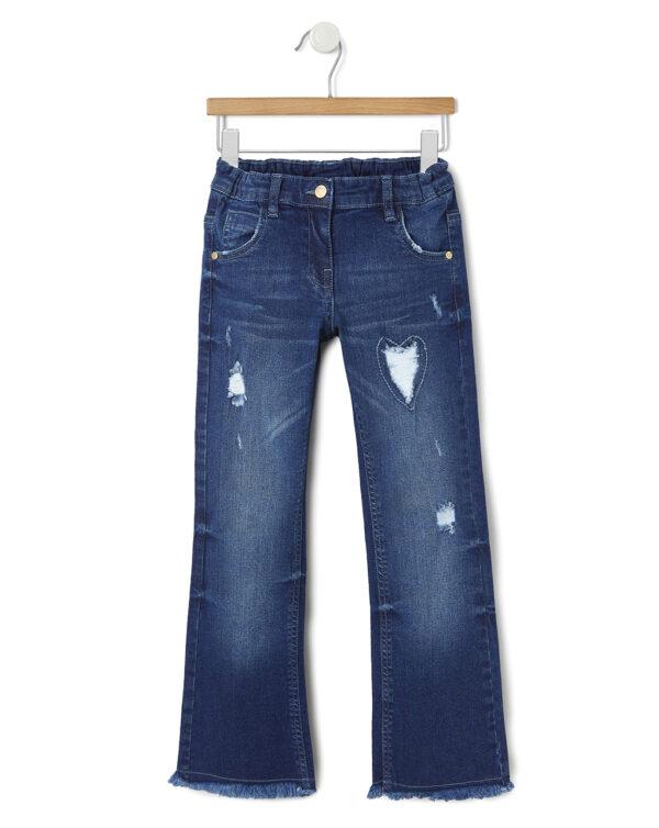 Pantalone denim a zampa - Prénatal