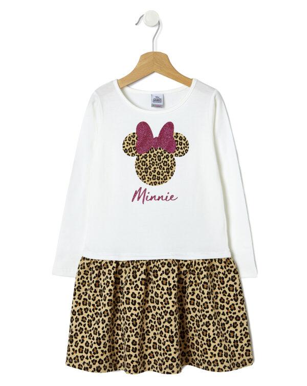 Abito animalier con stampa Minnie - Prénatal