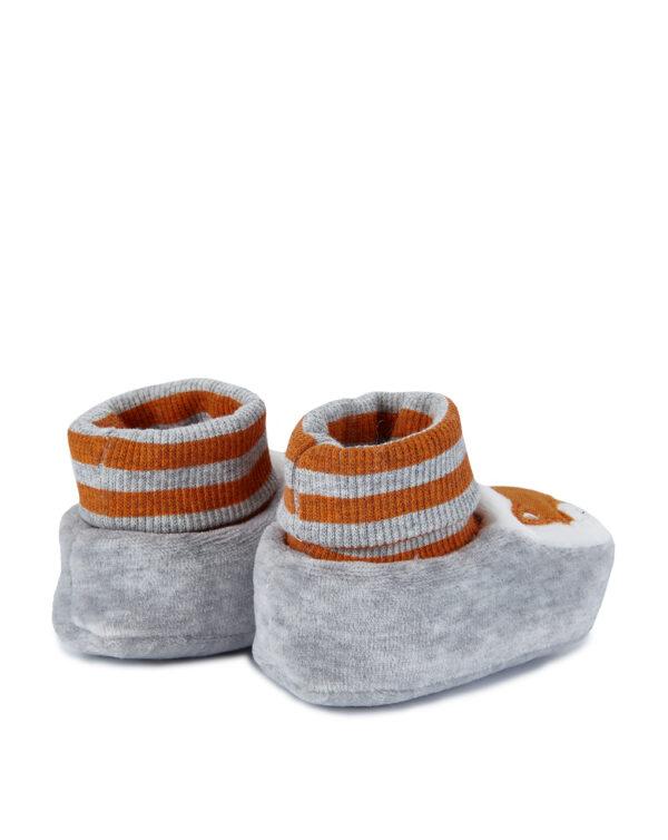 Scarpe in ciniglia con volpe - Prénatal