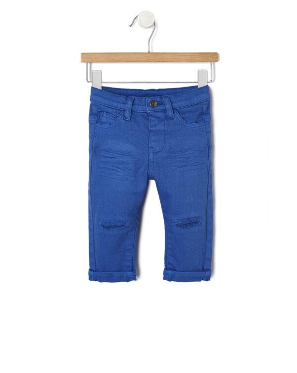 Pantalone in denim con strappi - Prénatal