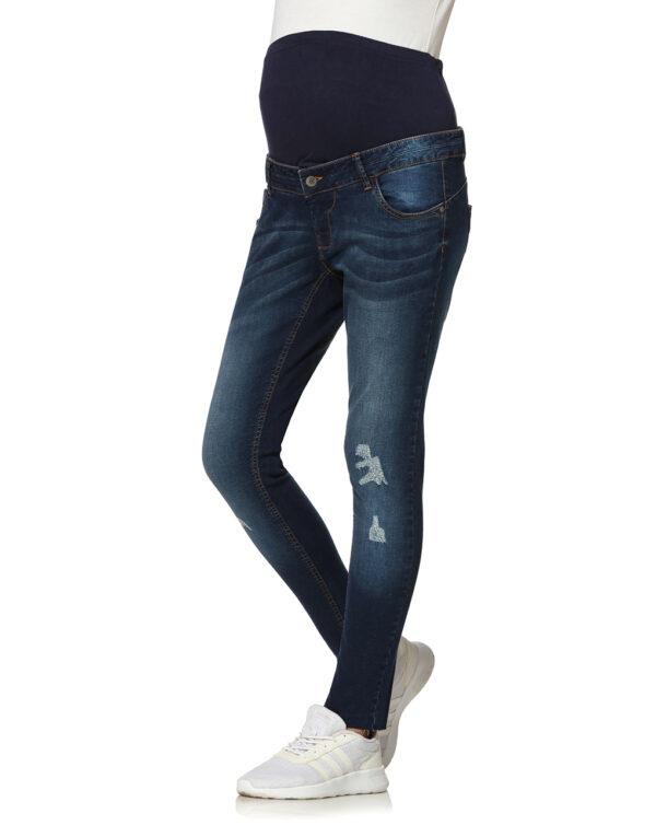 Pantalone con fondo tagliato al vivo - Prénatal