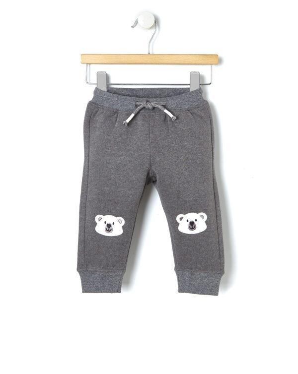 Pantalone in felpa con patch - Prénatal