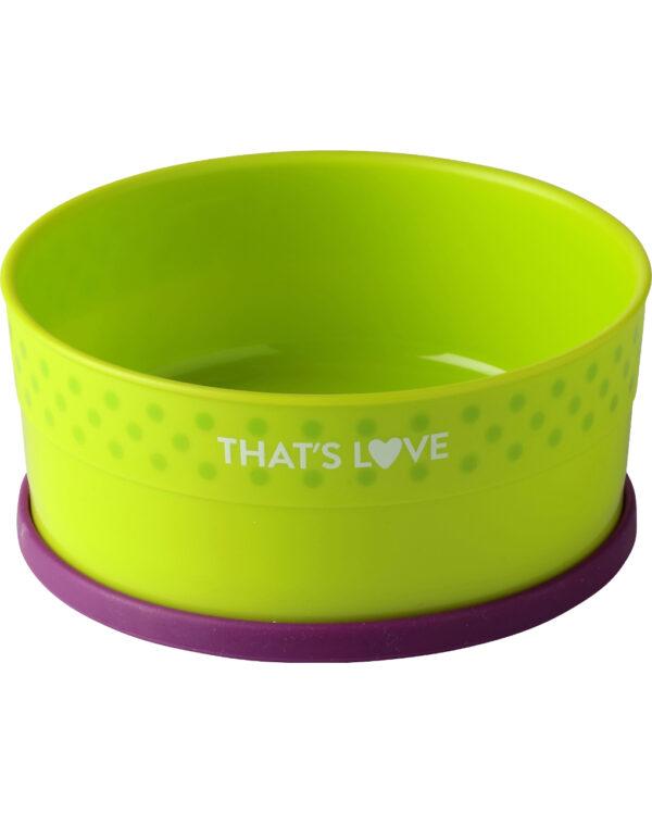Piatto fondo con anello in silicone - That's Love