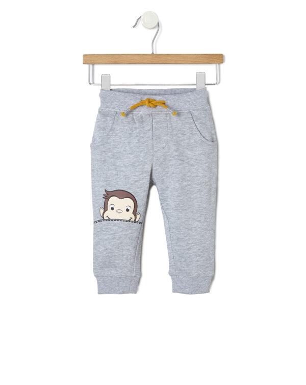 Pantaloni in felpa con stampa George - Prénatal