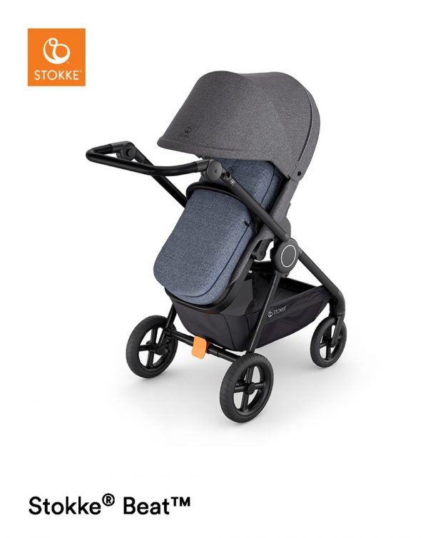 Sacco Softbag per passeggino Stokke® Blue Melange - Stokke