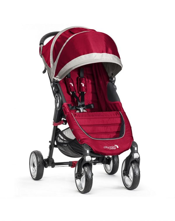 City Mini 4 ruote - Crimson Gray - Baby Jogger
