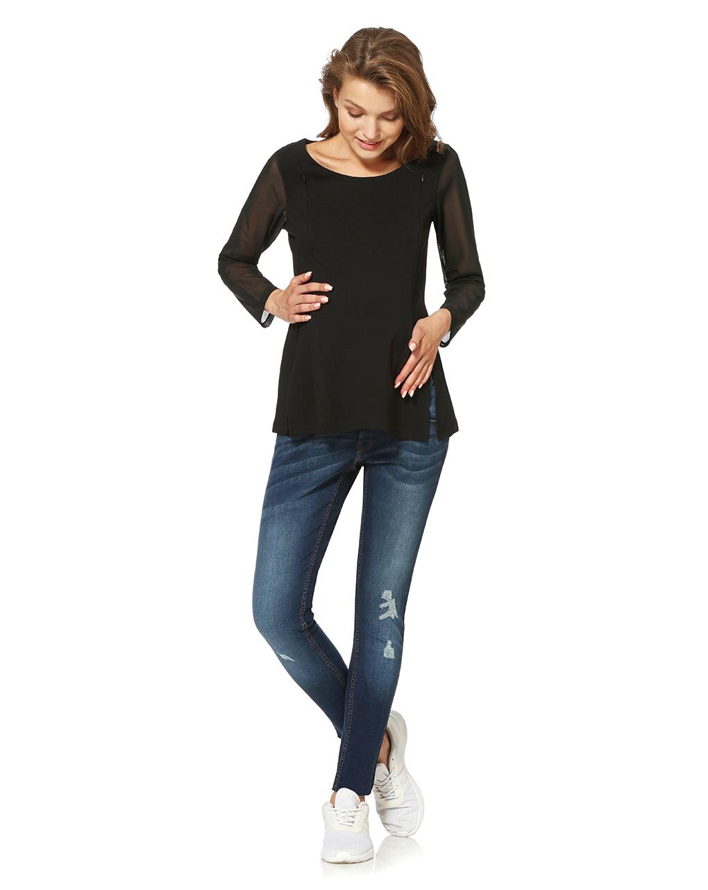 Blusa maniche lunghe con inserti - Prénatal