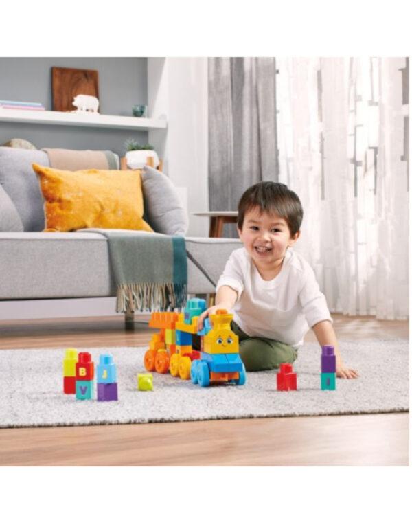 Mega Bloks® First Builders™ Impara con il Treno! con suoni - Fisher-Price
