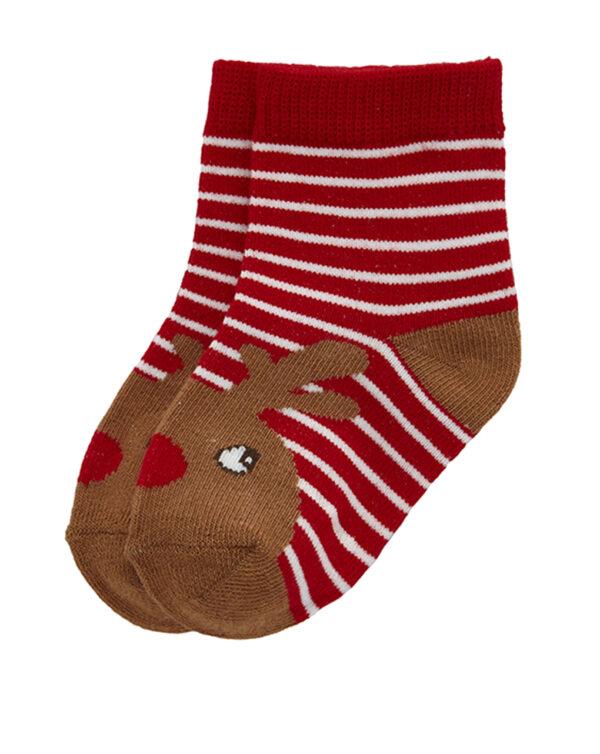 Calzini Natale con ricamo renna - Prénatal