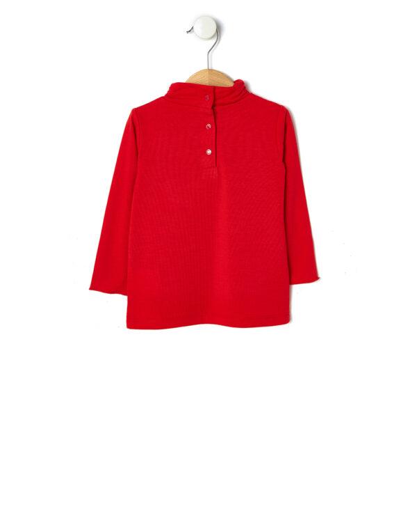 T-shrirt in jersey con stampa glitter e paillettes - Prénatal