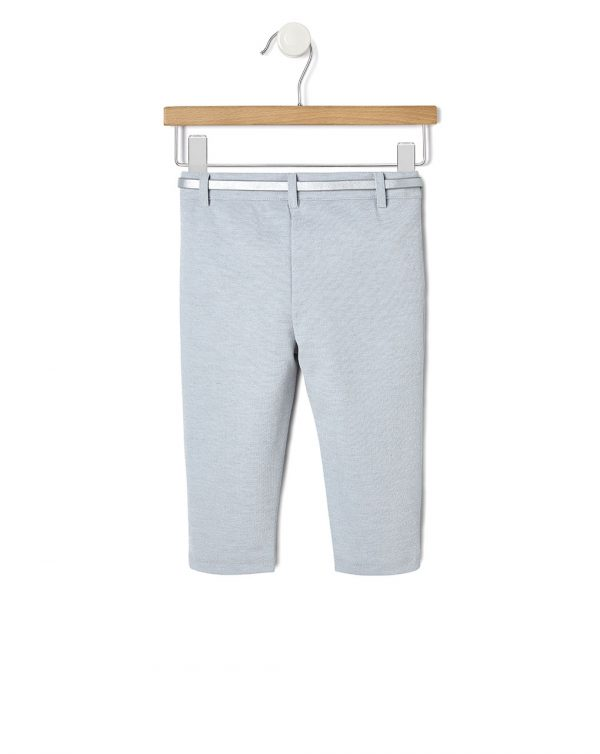 Pantalone punto milano con paillettes - Prénatal