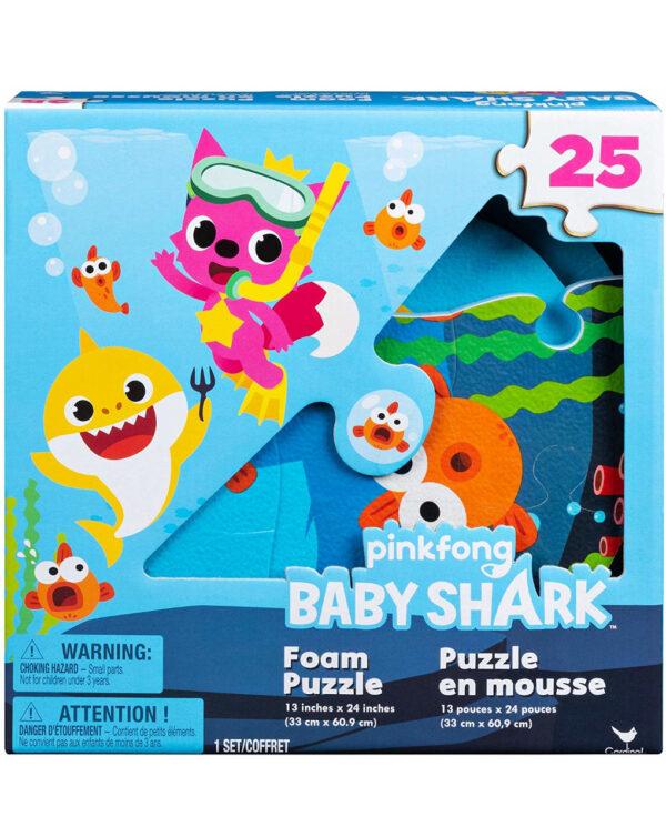 Baby Shark puzzle in gommapiuma (36m+) - Baby Shark