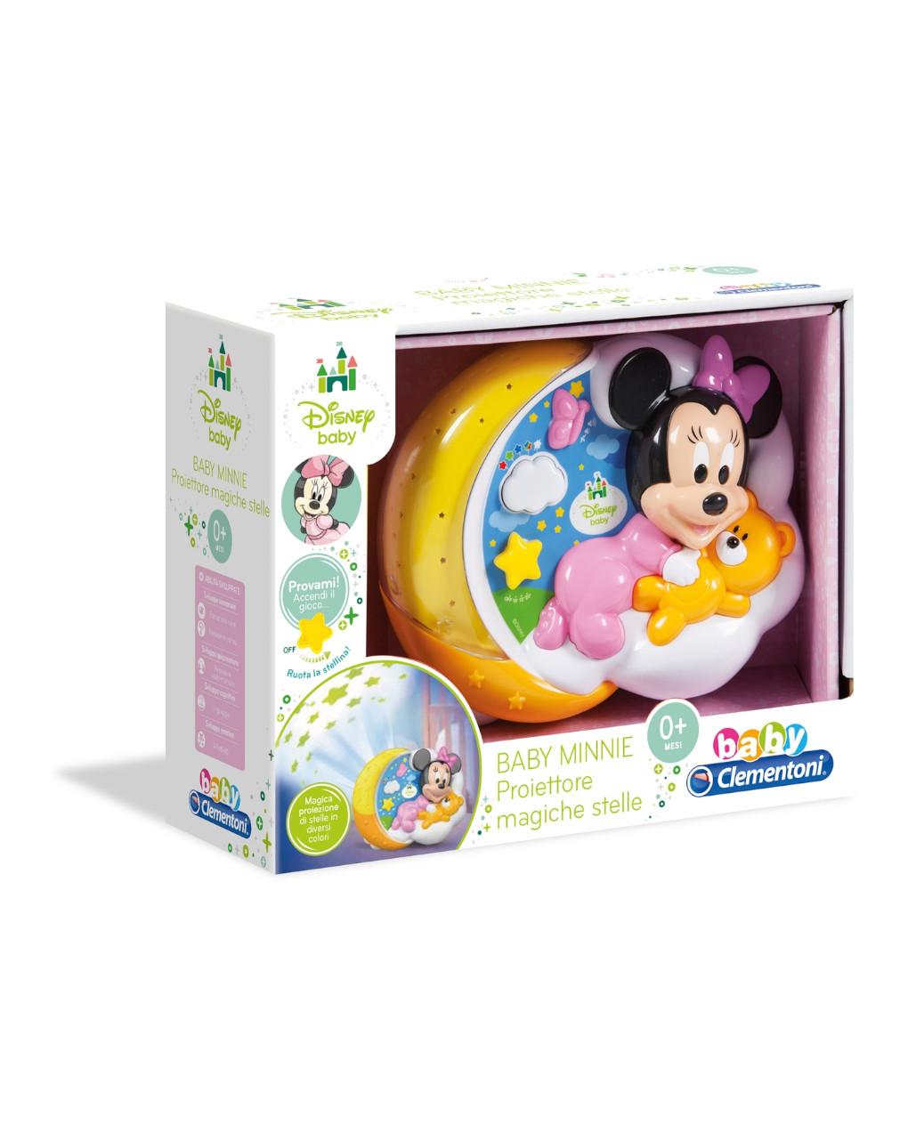 Disney baby - baby minnie proiettore magiche stelle - Clementoni