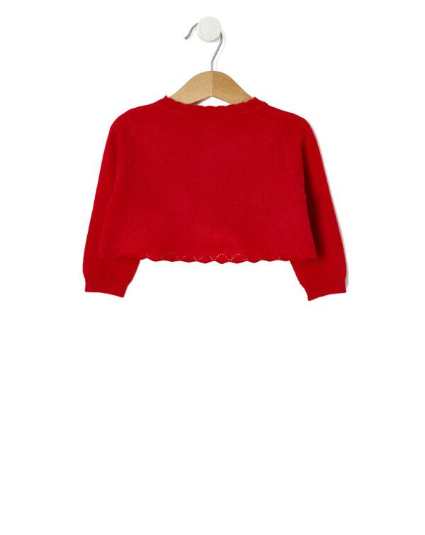 Cardigan tricot rosso - Prénatal