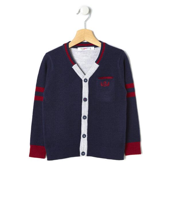 Cardigan tricot con ricamo - Prénatal