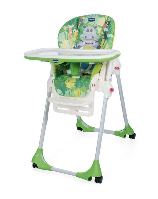 Polly easy Happy Jungle 4 ruote - Chicco