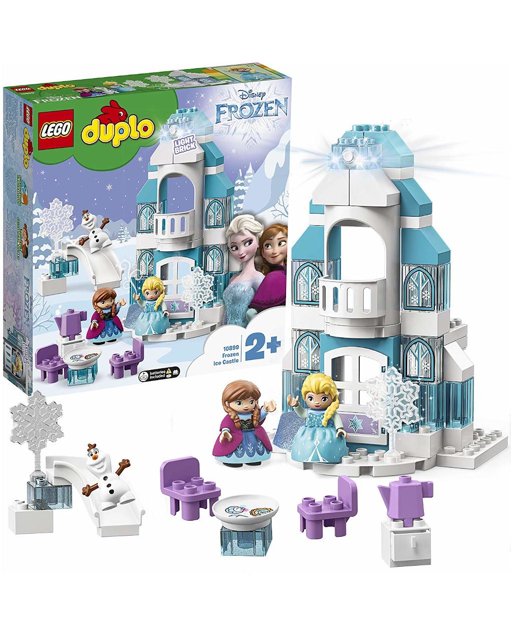 Duplo - il castello di ghiaccio di frozen - 10899 - Lego