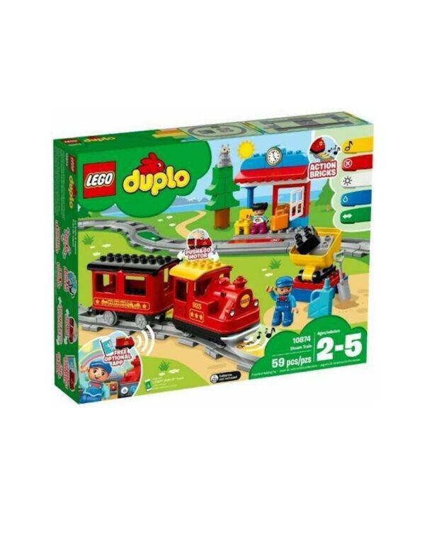 LEGO® DUPLO® Treno a vapore (24m+) - LEGO CITY