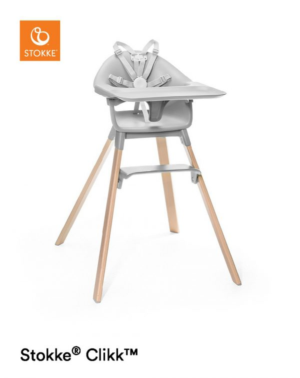 Seggiolone Stokke® Clikk™ - cloud grey - Stokke