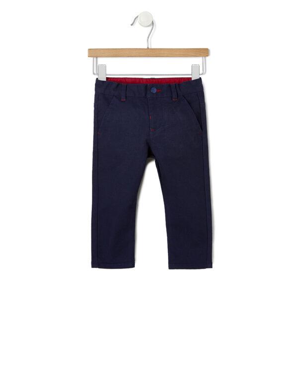 Set 3 pezzi camicia, gilet e pantaloni blu - Prénatal
