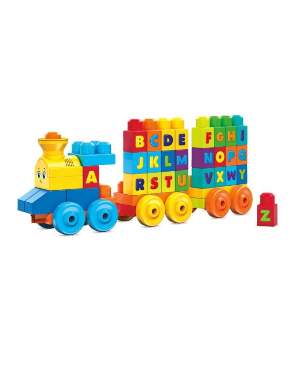 Mega bloks - il treno dell'alfabeto - Mega bloks