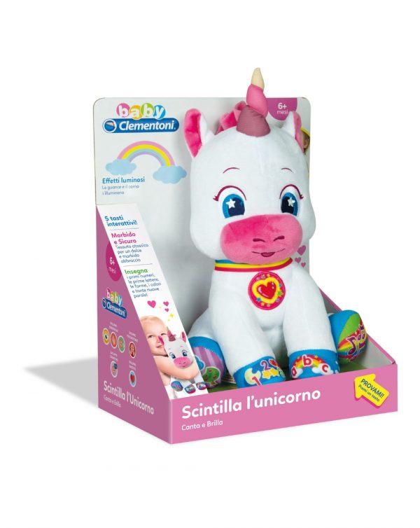 Scintilla l'unicorno che canta e brilla - Clementoni