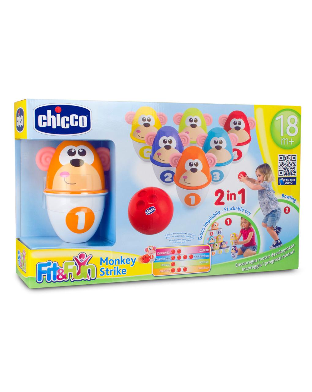 Chicco - gioco sportivo monkey strike - Chicco