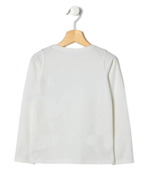 T-shirt con stampa glitter e paillettes - Prénatal