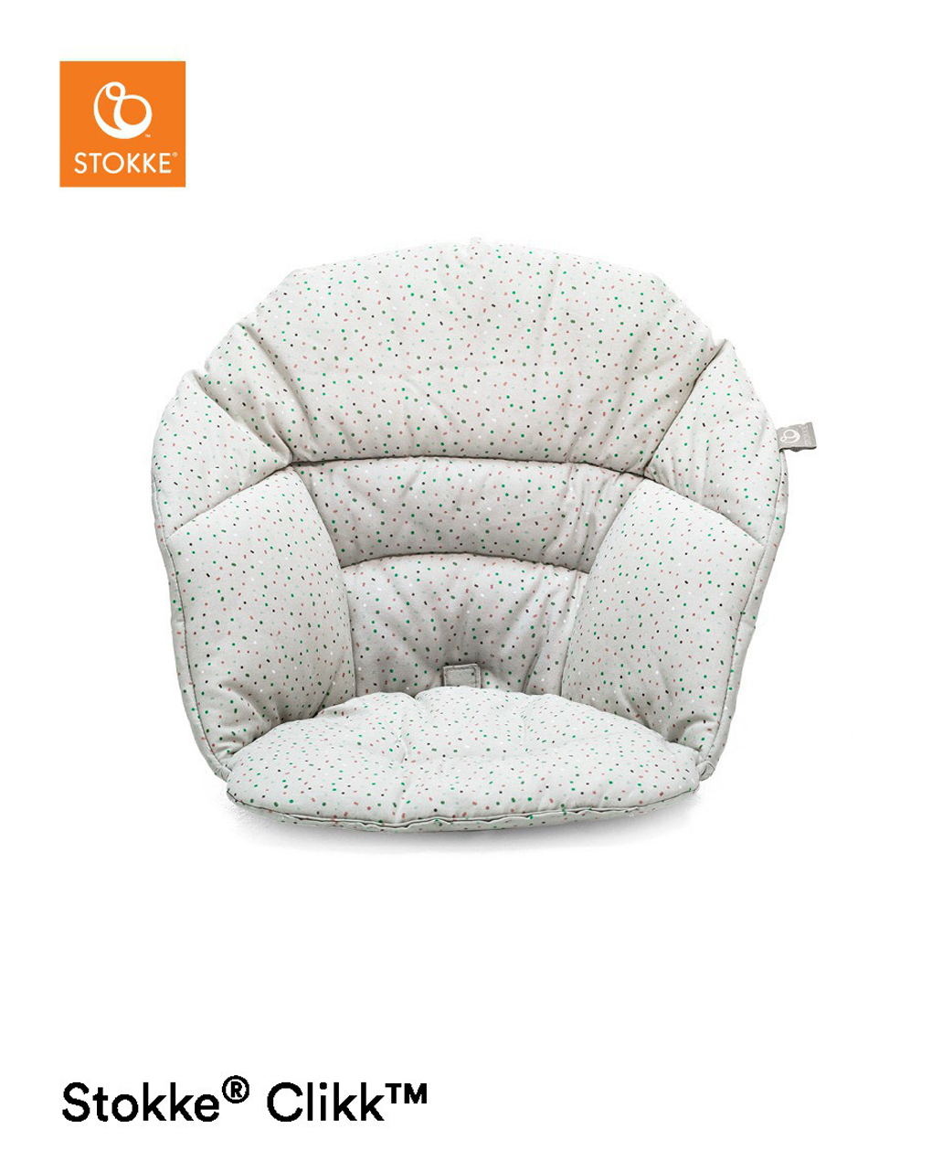 Stokke® clikk™ cushion - grey sprinkles - Stokke