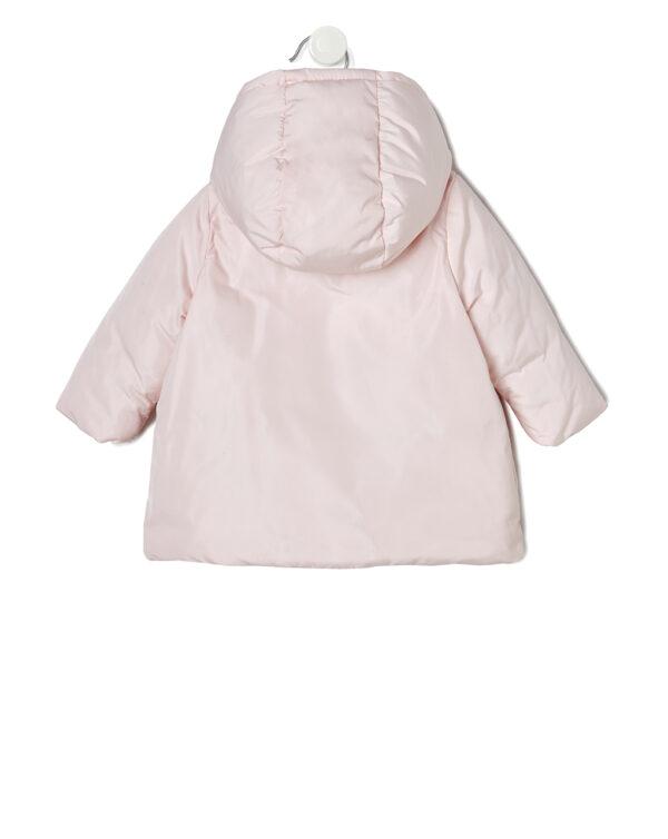 Giubbino nylon rosa con cappuccio - Prénatal