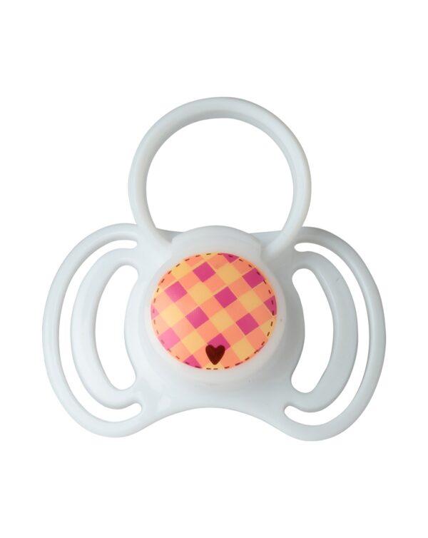 Succhietti in silicone con anello 0+ mesi 2 pz - That's Love