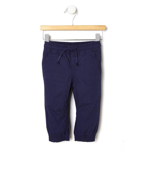 Pantalone in popeline tinta unita - Prénatal