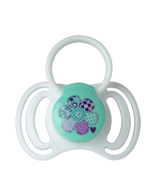 Succhietti in silicone con anello 12+ mesi 2 pz - That's Love