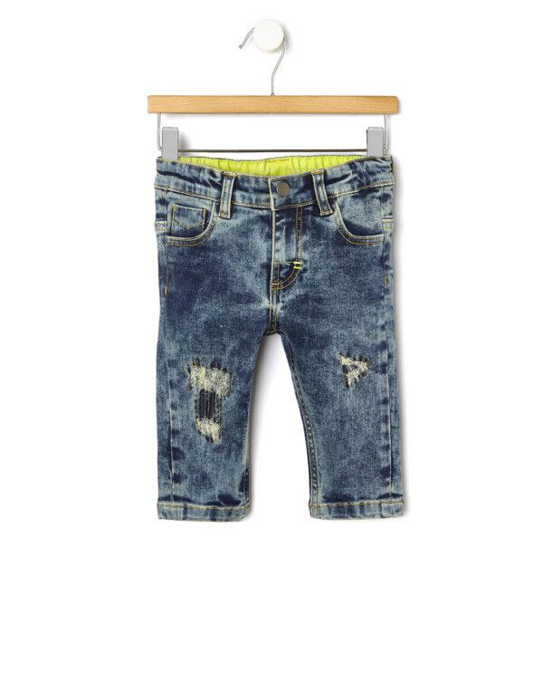 Pantaloni in denim délavé - Prénatal