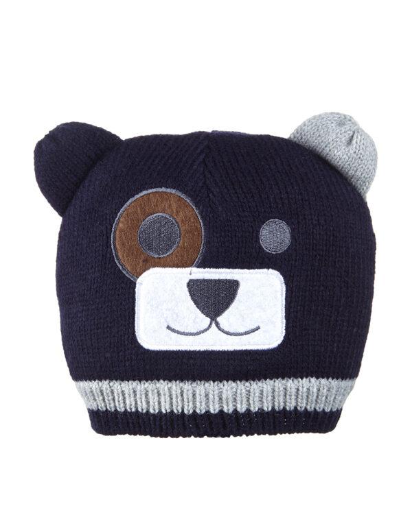 Cappellino tricot con orecchie applicate - Prénatal
