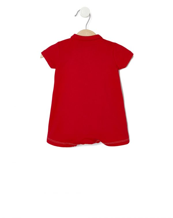 Tutina in jersey con apertura frontale - Prénatal