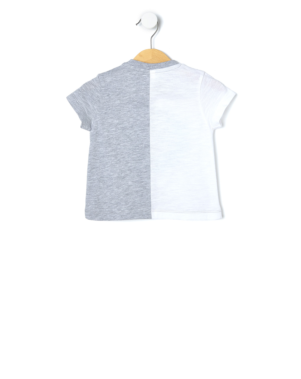 T-shirt bicolor con stampa - Prénatal