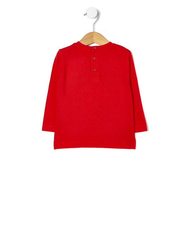 T-shirt manica lunga con stampa Mickey Mouse - Prénatal
