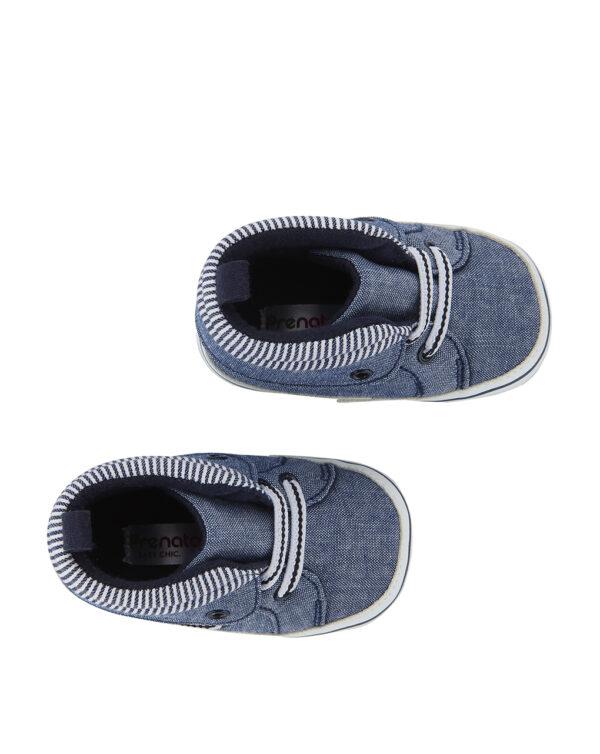 Scarpe in chambray con bordo a righe - Prénatal