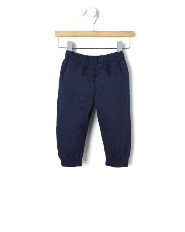 Pantaloni in twill con bande laterali - Prénatal