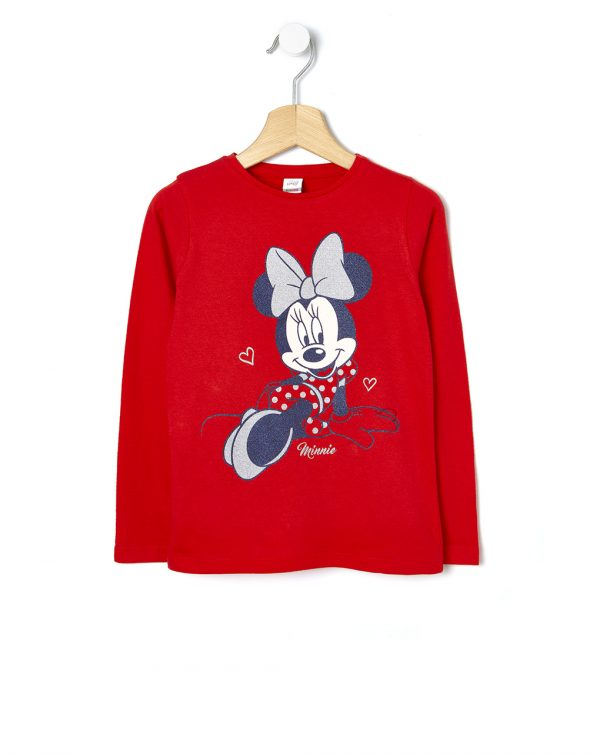 T-shirt in jersey con stampa Minnie - Prénatal