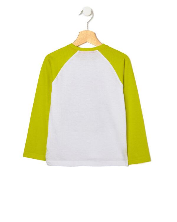 T-shirt con maniche raglan e stampa tigre - Prénatal