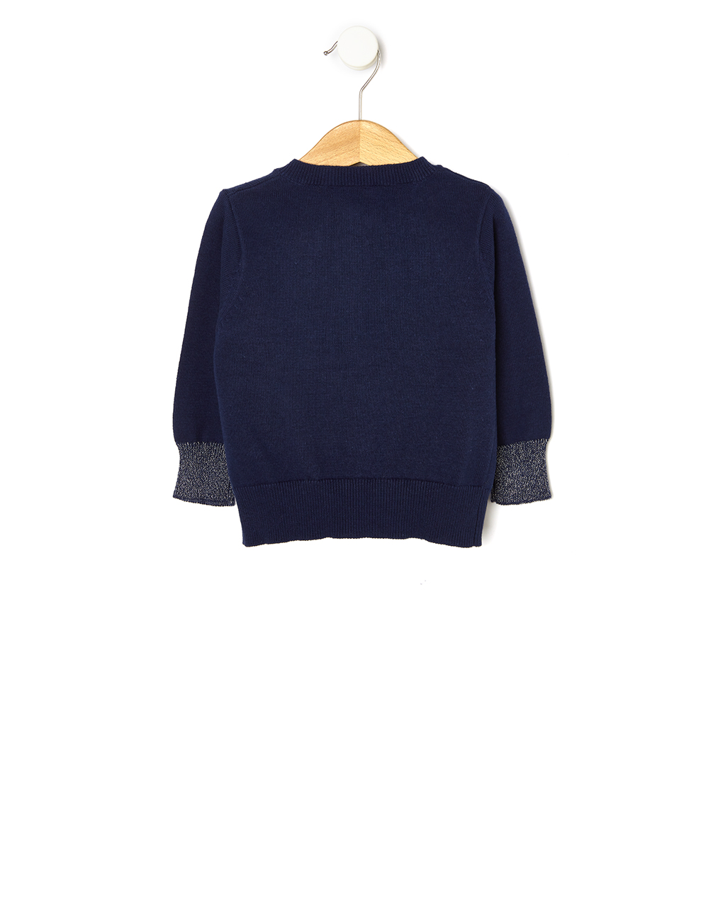 Cardigan tricot con dettagli lurex - Prénatal