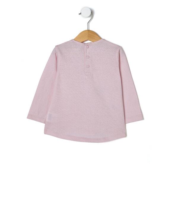 T-shirt basica con stampa glitter - Prénatal