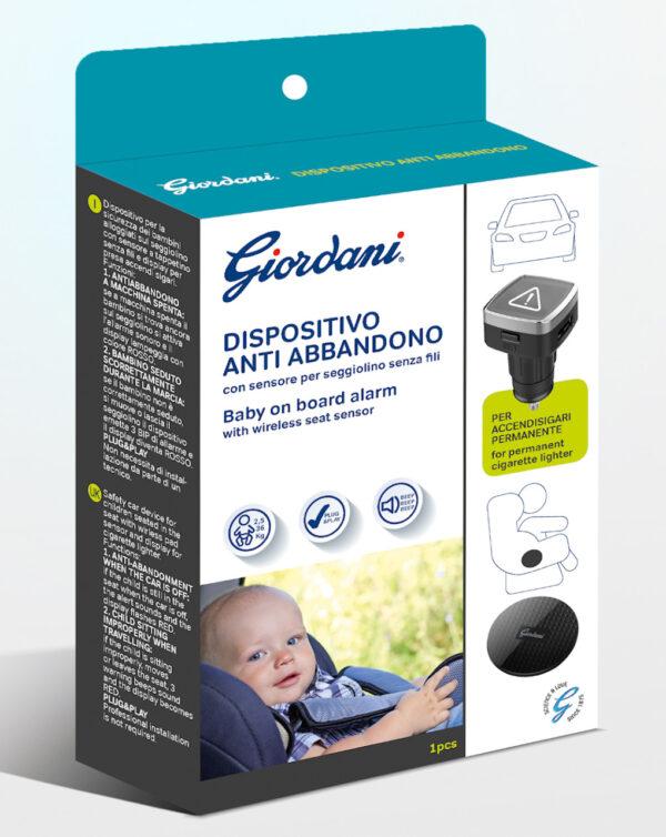 Dispositivo anti-abbandono Giordani accendisigari permanente - Giordani
