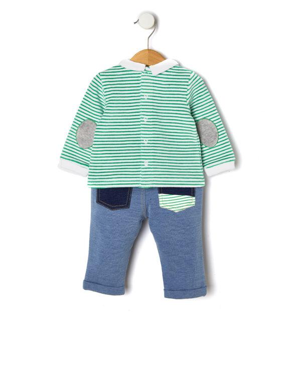 Completo lungo maglia e pantalone - Prénatal