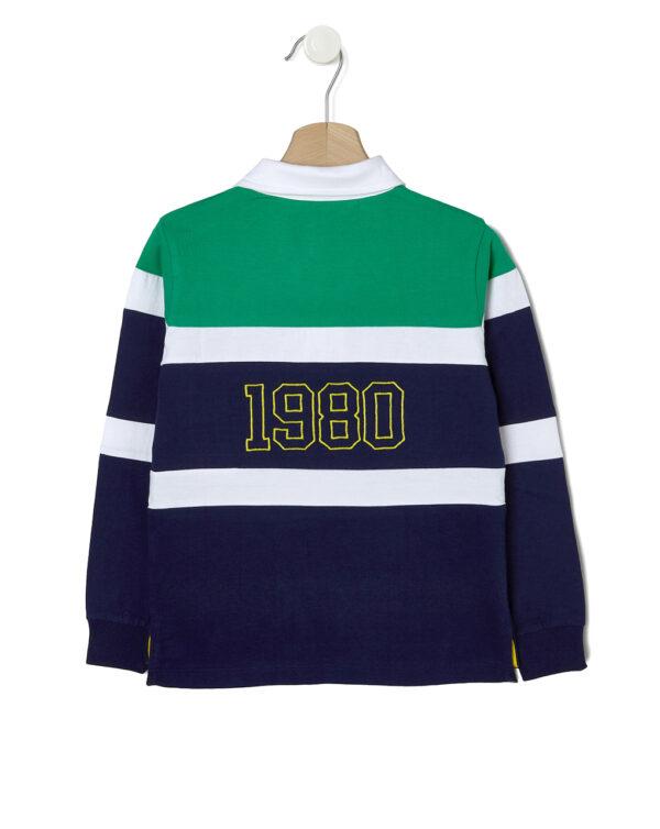 Polo a maniche lunghe in jersey - Prénatal