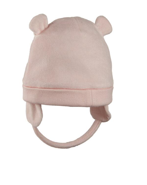 Cappello in ciniglia con orso - Prénatal