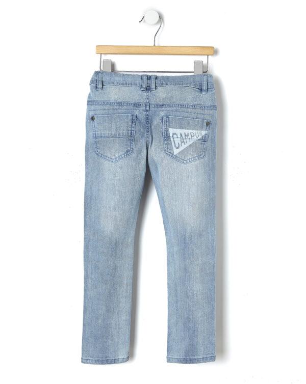 Pantalone denim slavato - Prénatal